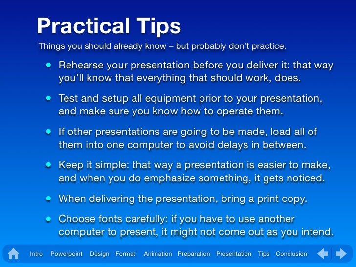 how to make effective presentation in powerpoint