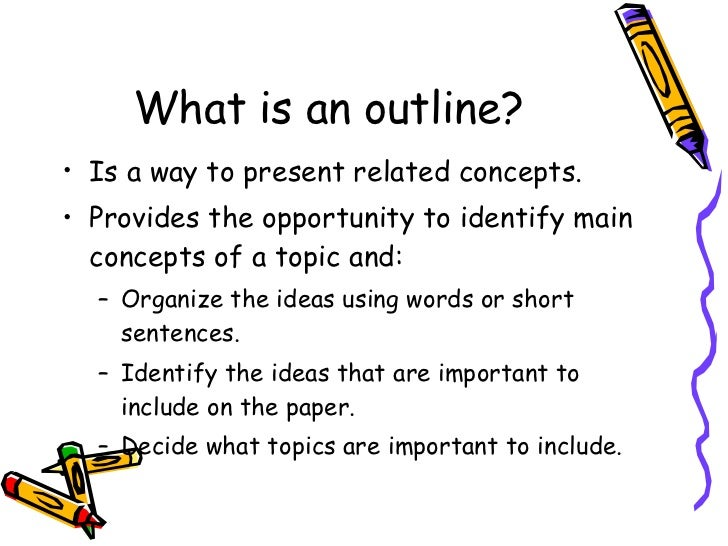 instructions in making an outline How to create a formal outline 7/27/2011 carmen seitan 17 comments about a month ago, i promised to follow up my blog post about informal outlines with one about.