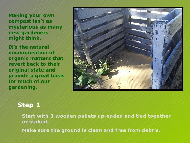 making your own compost isn t. Black Bedroom Furniture Sets. Home Design Ideas