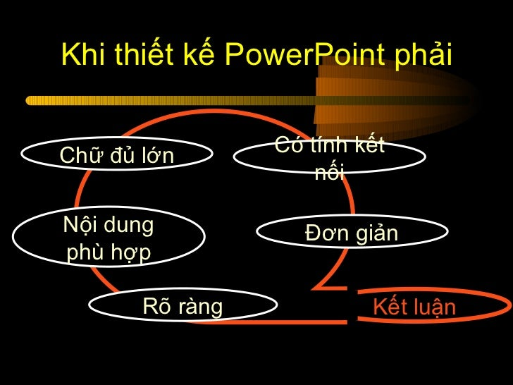 Làm thế nào để thiết kế Powerpoint thuyết trình cho hiệu quả Slide 2
