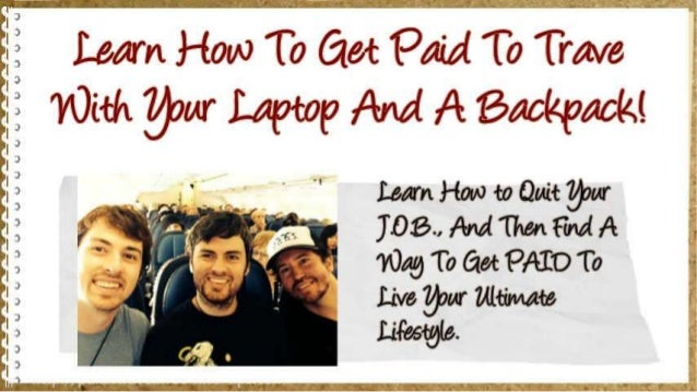 J'-J—Jl. -'LL£. s.'J. J'-J '—'k-fl.  »J'~'5.'5.-  J Learn How To flat PM To Truve E 3 With 7'/ j'.9ur Laptop Am!  A 'Backpac...