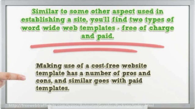How to Make Websites With Quality Website Templates and Graphics Slide 3