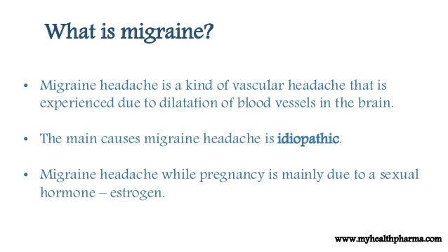 how to help a migraine during pregnancy