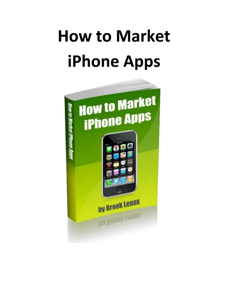 How to Market   iPhone Apps