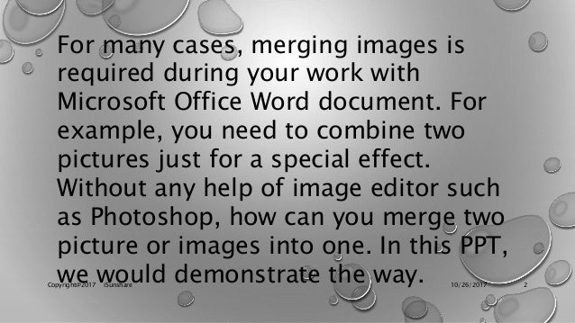 can you merge two word documents