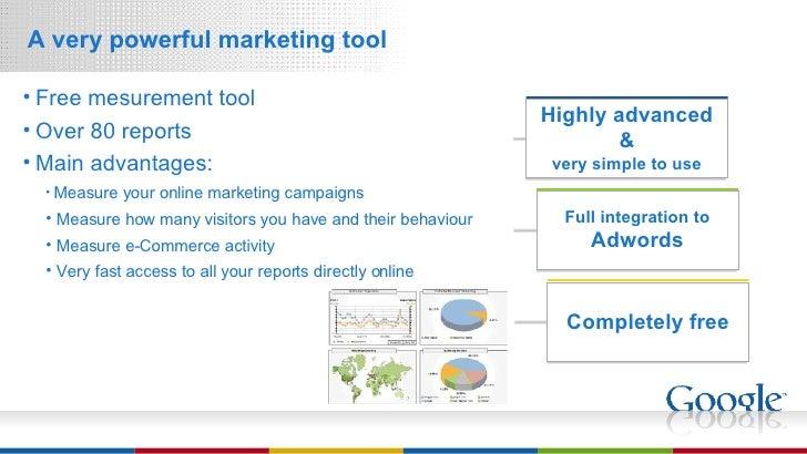 <ul><li>A very powerful marketing tool </li></ul>Highly advanced & very simple to use Full integration to Adwords Complete...