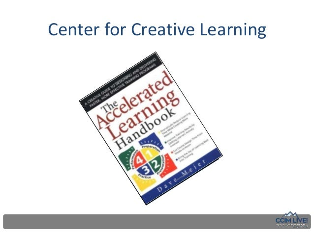 accelerated learning handbook dave meier pdf