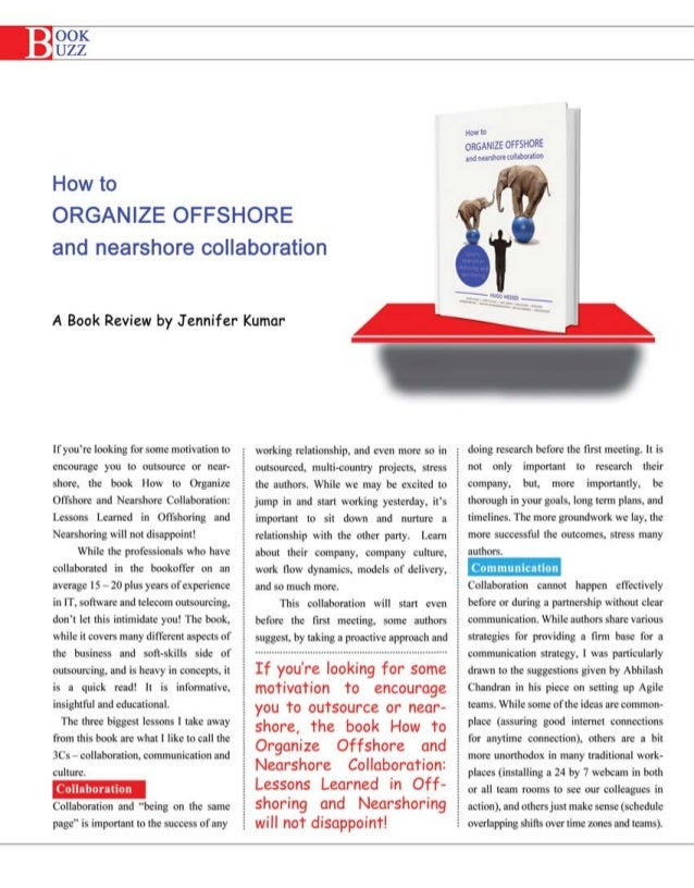 How to Organize Offshore Nearshore Collaboration - Book Review
