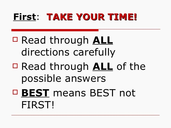 How to pass all the tests