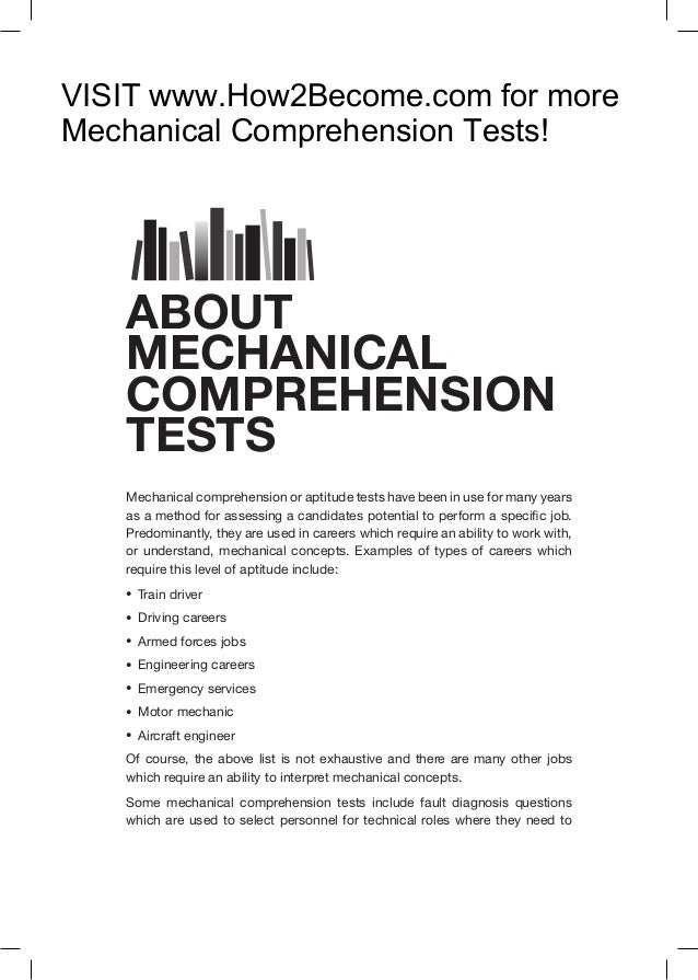 How To Pass Mechanical Comprehension Tests