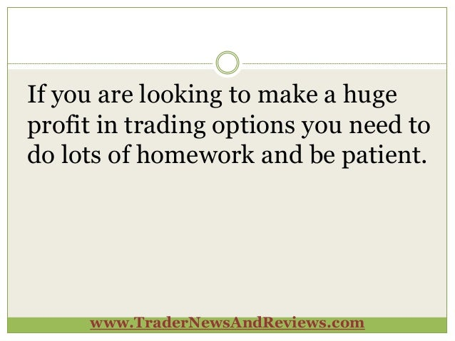 Option trade picks