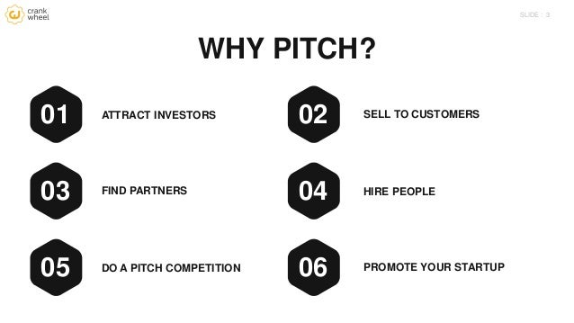 Pitching your startup: Lessons learned Slide 3