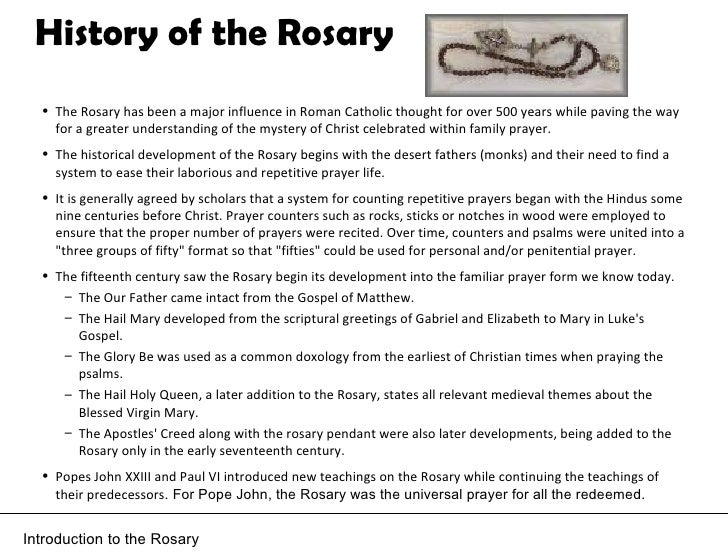 How To Pray Rosary Power Point