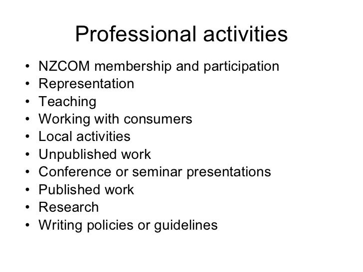 list special interests and hobbies on job application