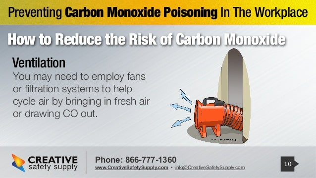 How To Prevent Carbon Monoxide Poisoning In The Workplace