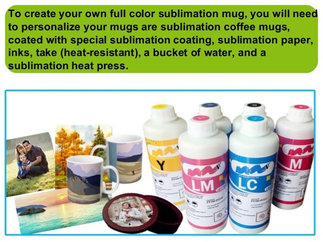 How To Print Mugs By Dye Sublimation Ink And Sublimation Transfer Pap…
