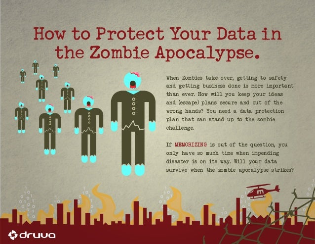 When Zombies take over, getting to safety  and getting business done is more important  than ever. How will you keep your ...