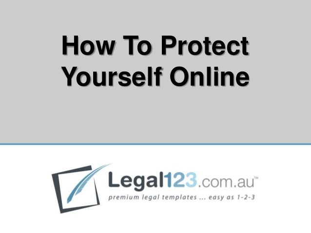 How To ProtectYourself Online                  0