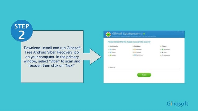 How to Recover Deleted Viber Messages from Android