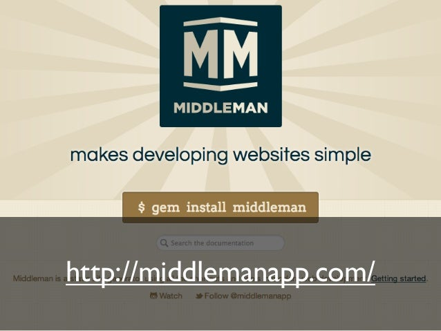 What is Middleman?