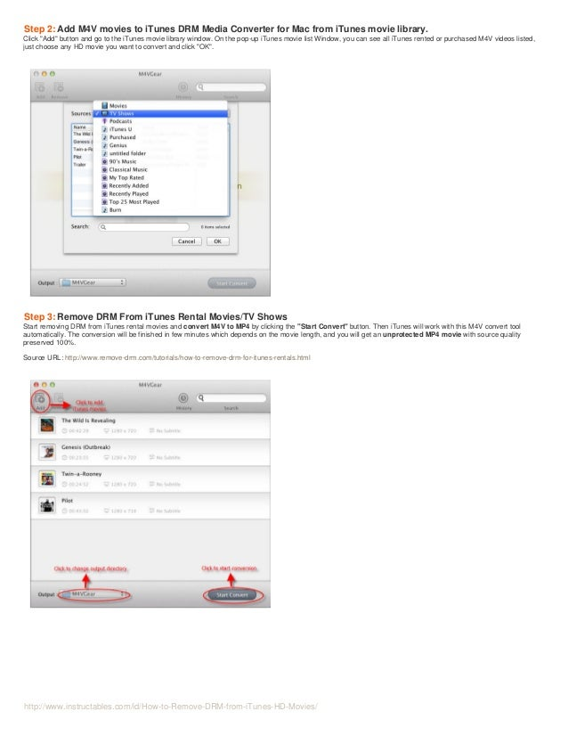 How to Remove DRM from iTunes HD Videos and Enjoy iTunes HD Videos Everywhere Slide 3