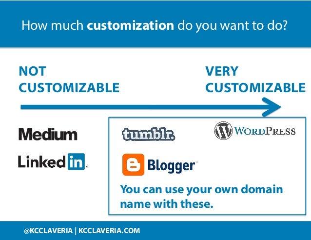 @KCCLAVERIA KCCLAVERIA.COM@KCCLAVERIA | KCCLAVERIA.COM VERY CUSTOMIZABLE NOT CUSTOMIZABLE How much customization do you wa...