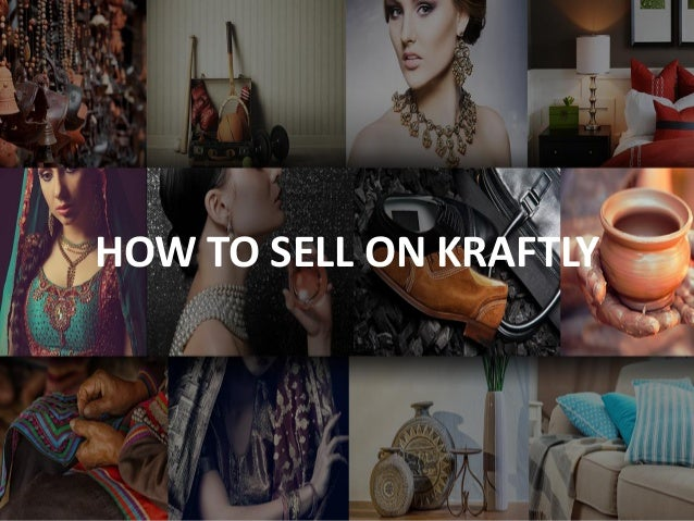 HOW TO SELL ON KRAFTLY