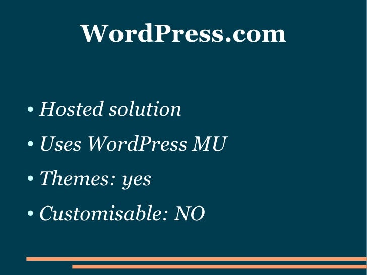 how to set up wordpress org