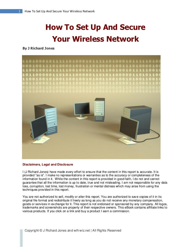 1    How To Set Up And Secure Your Wireless Network                     How To Set Up And Secure                          ...