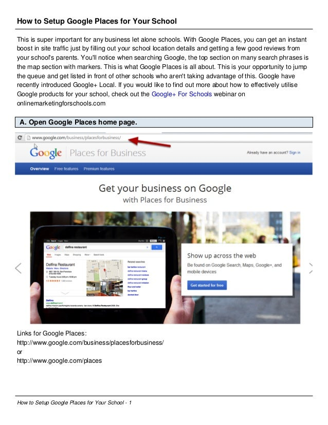 How to Setup Google Places for Your School This is super important for any business let alone schools. With Google Places,...