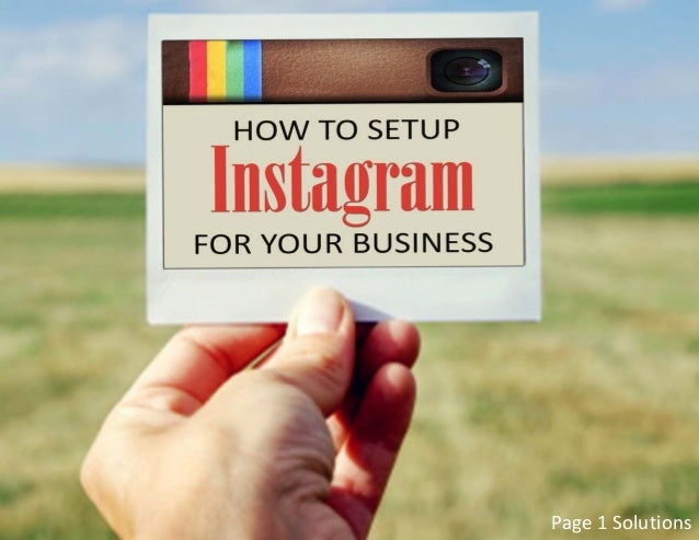 how to connect instagram to business page