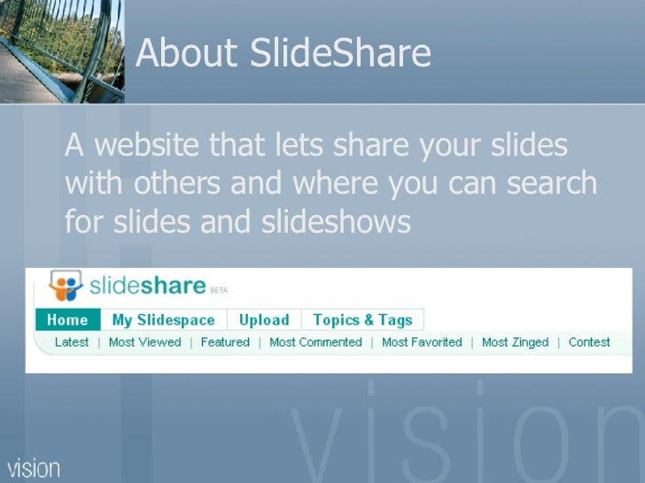 How to share a PowerPoint Presentation using SlideShare Slide 2
