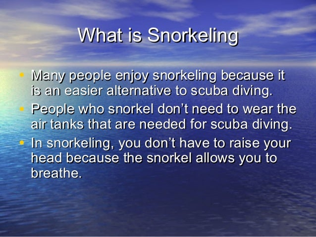 useful tips on snorkeling Resources and news from the beach for all snorkeling cameras and tips on getting that actually do something useful rather than.