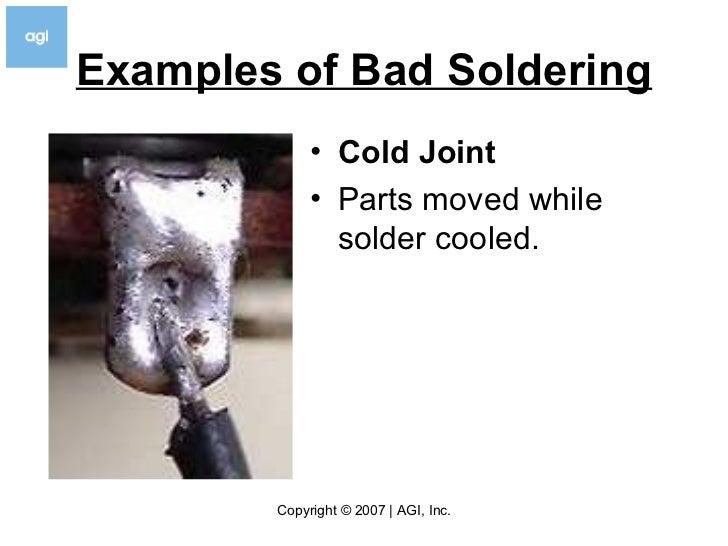 Cold Solder Joint >> How To Solder V3.5