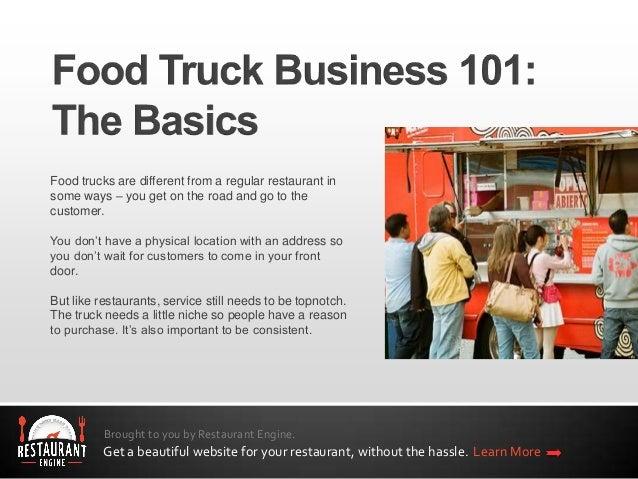 food truck business plan ppt