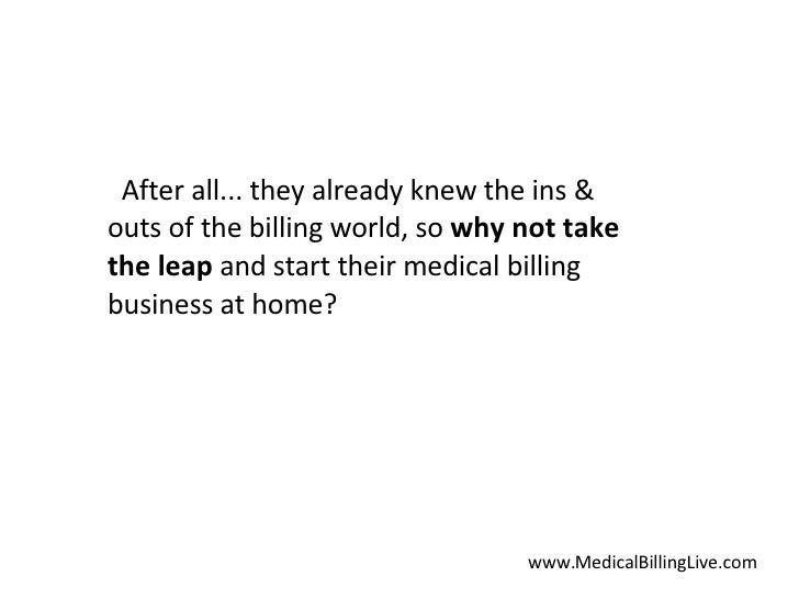 Medical Billing Start Up