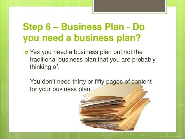 22 Step 6 Business Plan Do