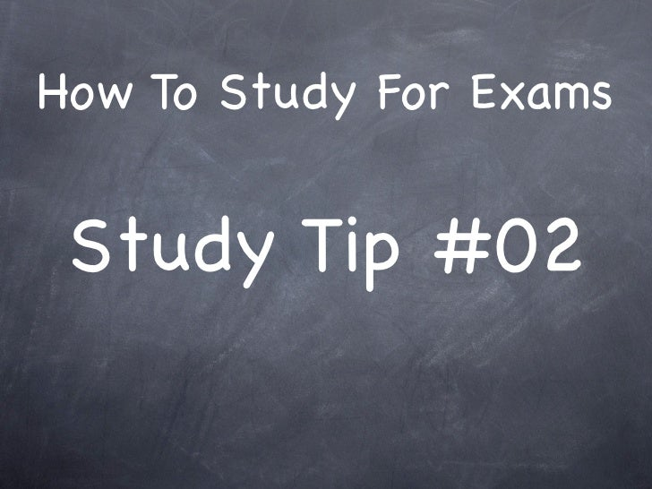 How To Study For Exams    Study Tip #02
