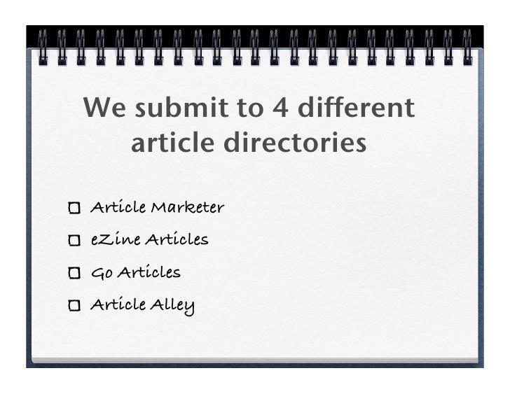 Creating Great Author Bios Slide 2