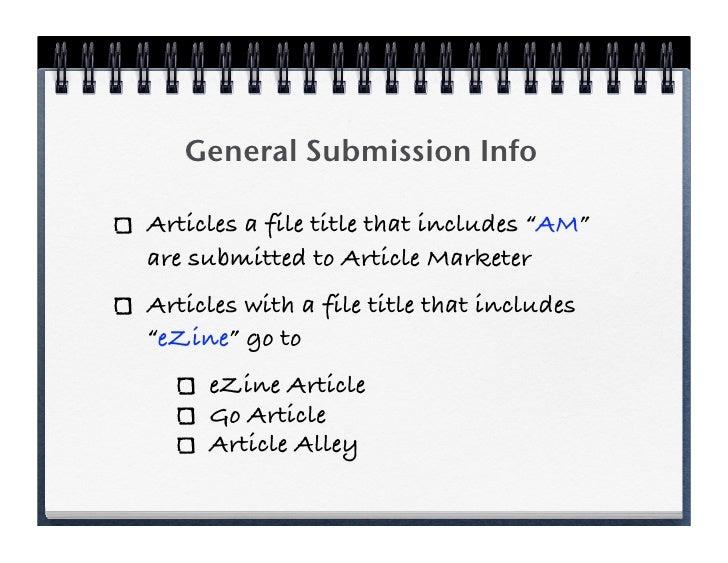 Creating Great Author Bios Slide 3
