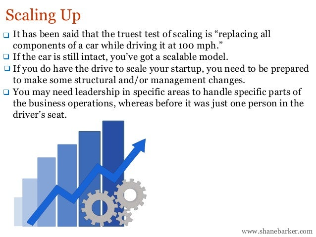"""It has been said that the truest test of scaling is """"replacing all components of a car while driving it at 100 mph."""" If th..."""