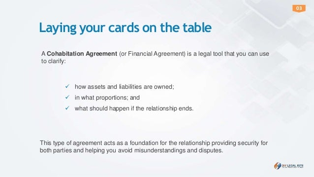 How totalkaboutcohabitationagreement – Cohabitation Agreement