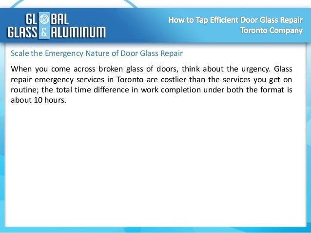 global business reports glass doors