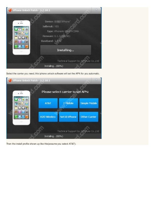 Unlock Software/App iPhone - UnlockBase