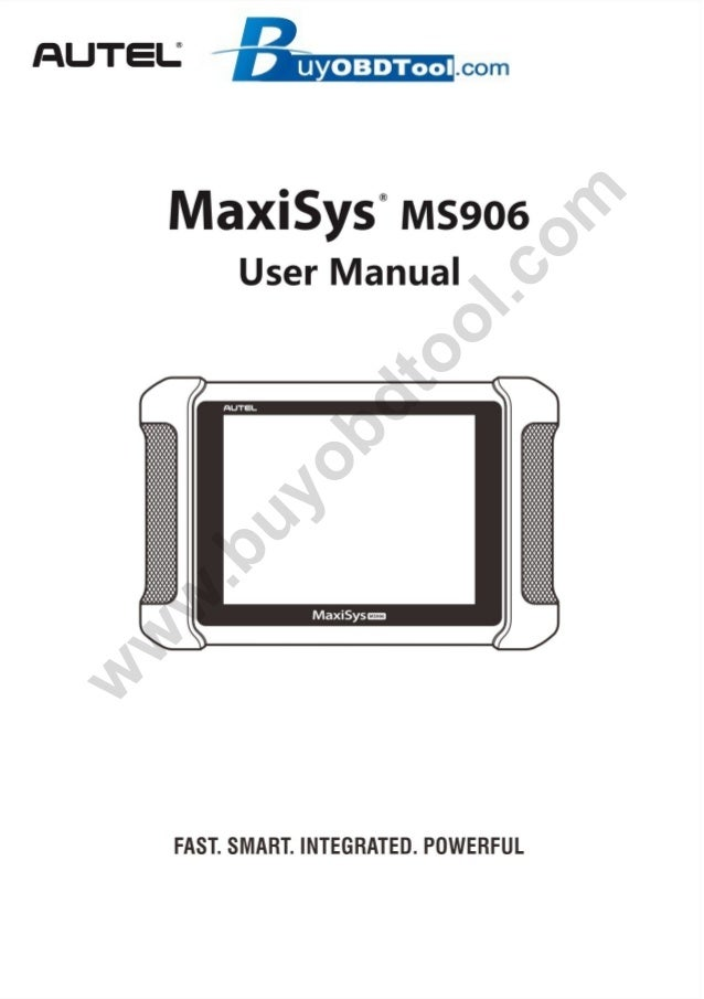 How to use AUTEL MaxiSYS MS906