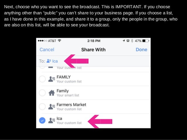 How to use facebook live (and facebook mentions) in a facebook group …