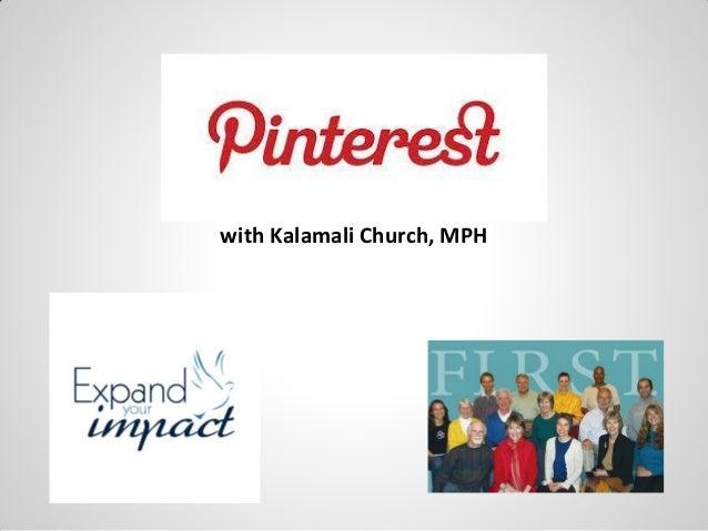 with Kalamali Church, MPH