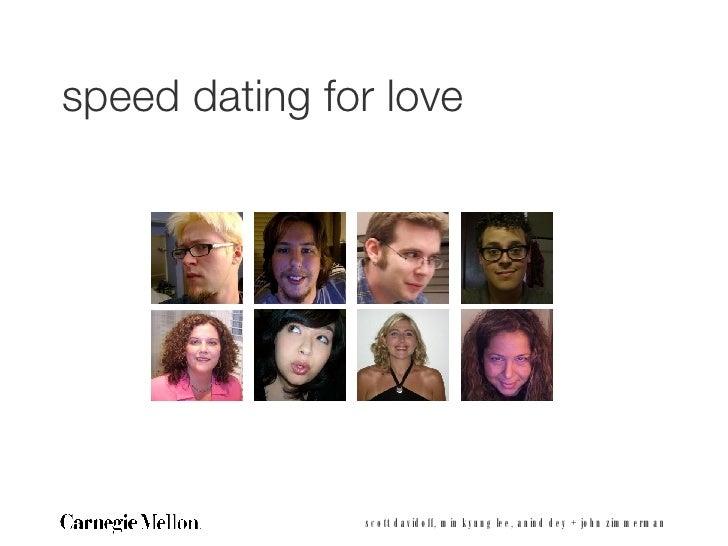 speed dating design