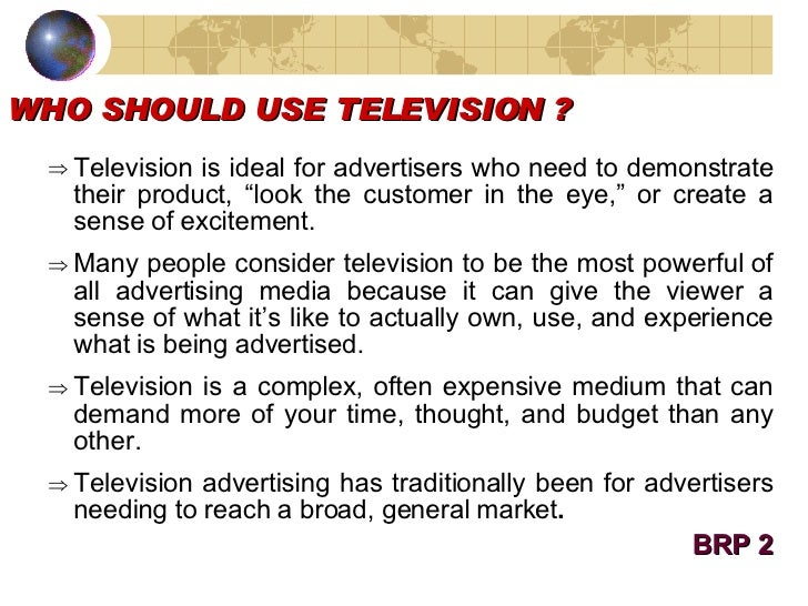 what is the use of television