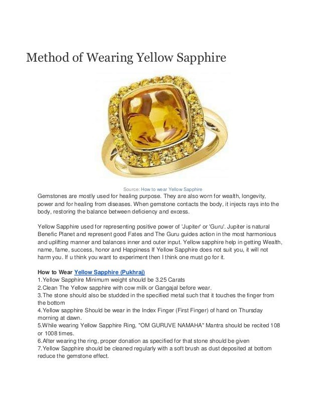 How to-wear-yellow-sapphire-pukhraj